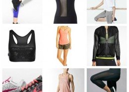 fitness fashion mesh