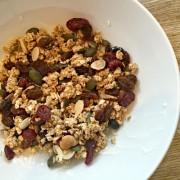 homemade granola healthy snack