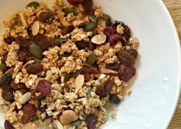 homemade granola healthy snack