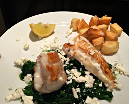 Monkfish-with-Spinach-&-Feta-recipe