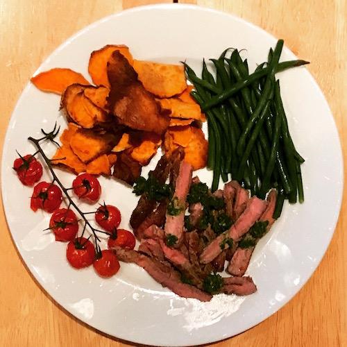 steak-with-chimichurri-sauce
